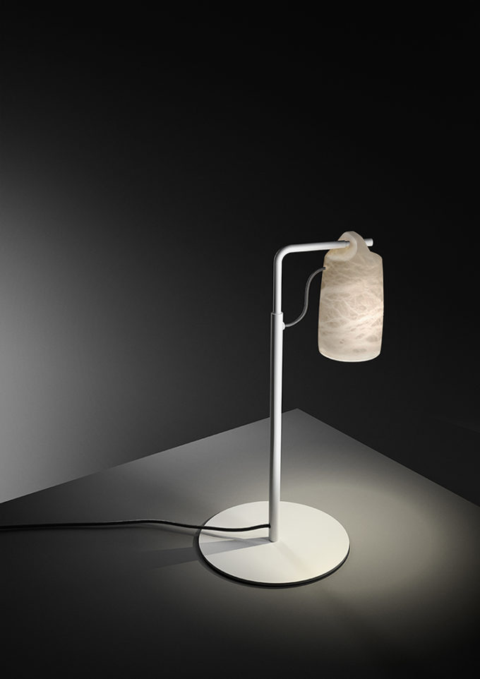 Paros Alabaster Lamp