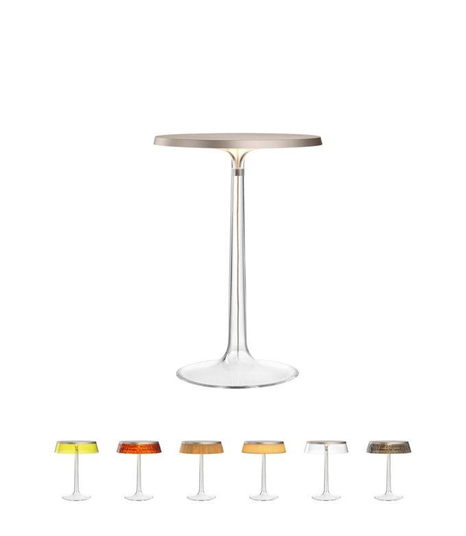 Bon Jour Table Lamp matt chrome