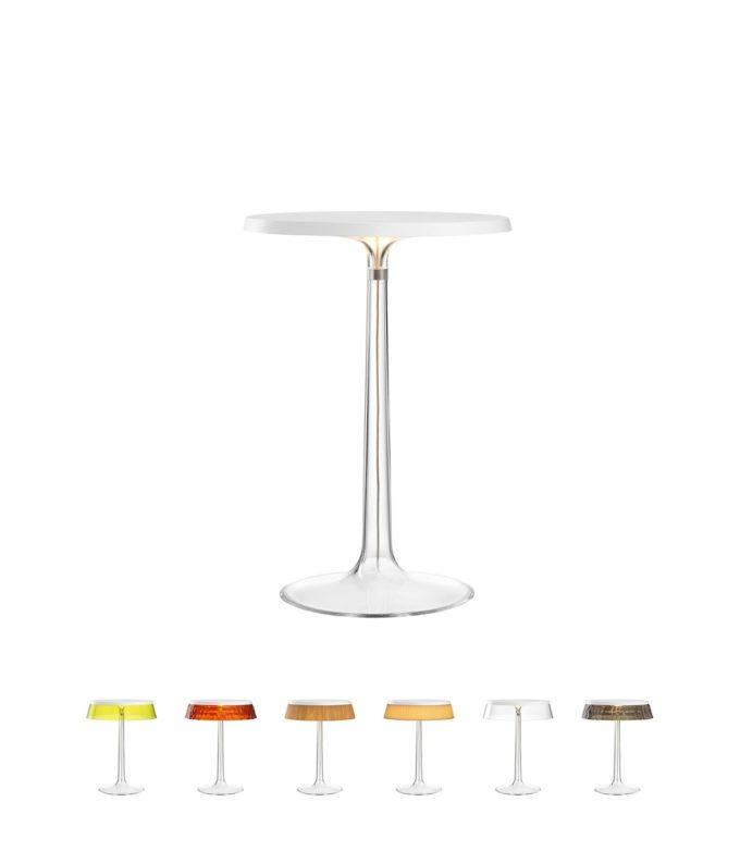 Bon Jour Table Lamp white