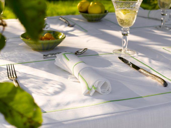 Maca Table Linen