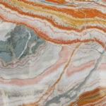 Tangerine onyx marble