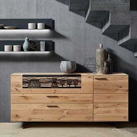 Runa Sideboard and Shelves